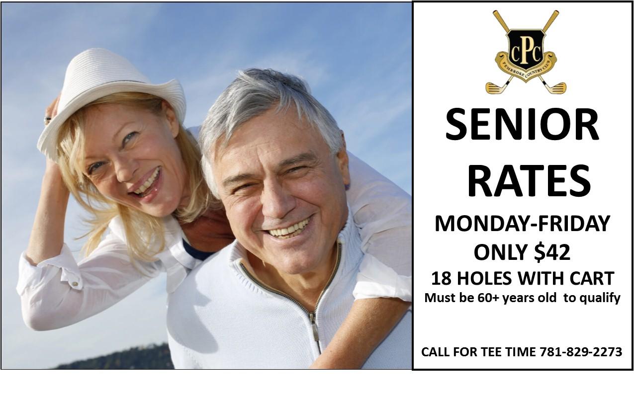 2019 senior rate