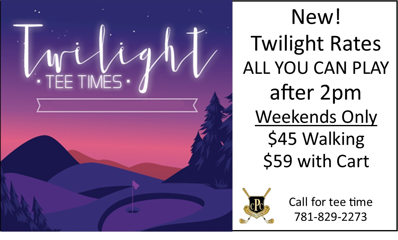 2019 twilight rates
